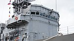 Bridge of JS Sendai (DE-232) right front view at JMSDF Maizuru Naval Base July 29, 2017 02.jpg