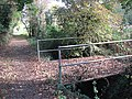 Bridge over ditch beside Dove Lane - geograph.org.uk - 1543337.jpg