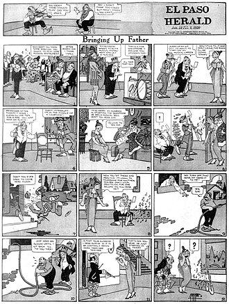 Bringing Up Father - Image: Bringupfather comic 1920