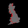 Britain Fractal Coastline 200km.png