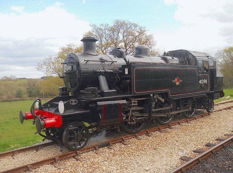 British Railways Class Ivatt Two No 41298