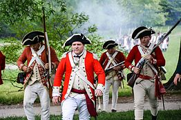 British soldiers in the eighteenth century - Wikipedia