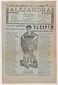 Broadsheet with two love ballads about desirable women, a woman wearing a shawl and a skirt with her hands placed on her hips MET DP868561.jpg