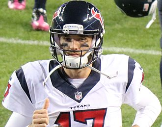 Brock Osweiler - Osweiler with the Texans in 2016