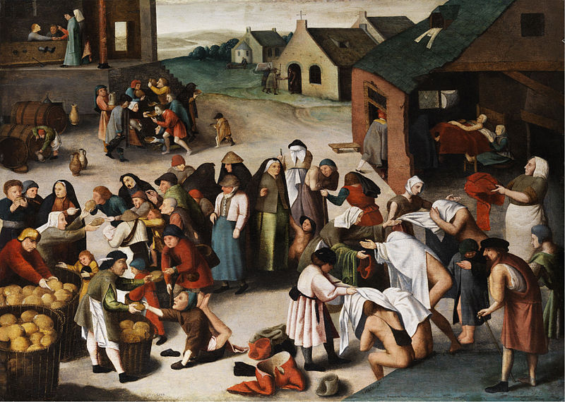 File:Brueghel-Umkreis Werke der Barmherzigkeit.jpg