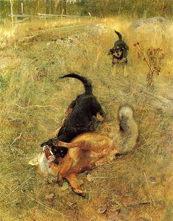 vad skrämmer bort räv