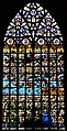 Bruxelles Co-Cathédrale St. Michel & Ste. Gudule Innen Buntglasfenster 01.jpg