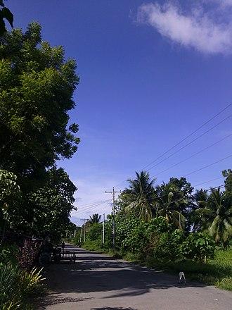 """Buayan - At the """"Jainal Abedin"""" street of Purok 1, Brgy. Buayan"""