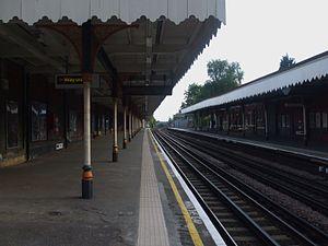 Buckhurst Hill tube station - Image: Buckhurst Hill stn south