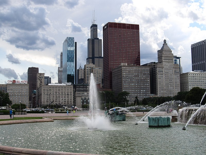 File:Buckingham Fountain, Grant Park, Chicago, Illinois (9181739434).jpg