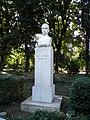 Bucuresti, Romania, Parcul Cismigiu (Aleea Rondului Roman - Statuia lui Gh. Cosbuc); B-II-a-A-19655.JPG