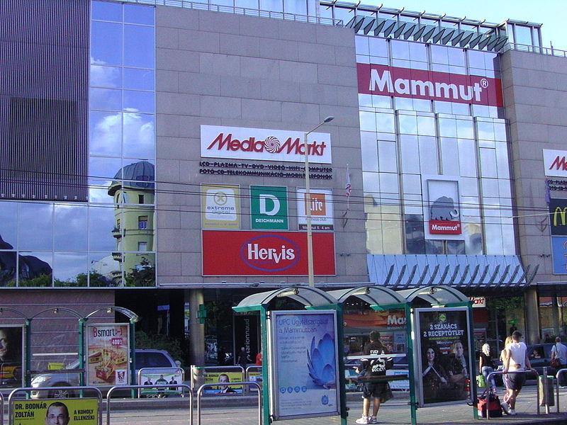 Vodafone Mammut nyitvatartás