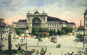 Budapest Keleti railway station - Keleti Terminal in 1912