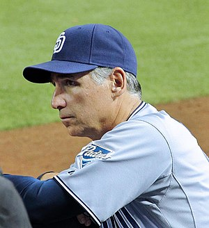 Bud Black - Black with the San Diego Padres
