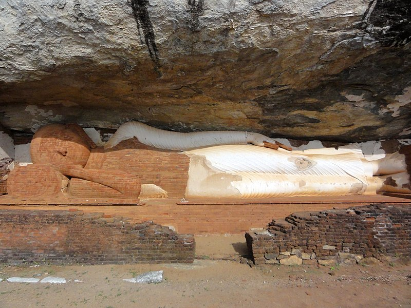 Файл: Будда unterhalb де-Pidurangala Felsen.jpg