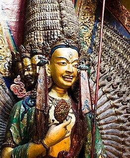 Protector against supernatural danger in Buddhism