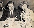 Buddy Fogelson and Greer Garson, 1948.jpg