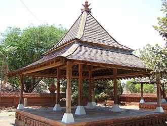 Sultanate of Cirebon - A pendopo pavilion in Keraton Kasepuhan, Cirebon.
