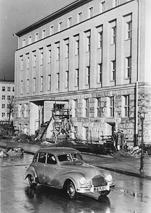 Hochschule für Musik Carl Maria von Weber - Hochschule für Musik 1952