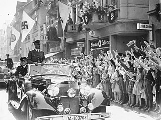 Nazi Party - Adolf Hitler in Bonn in 1938