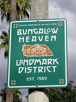 Bungalow Heaven, Pasadena, California - Bungalow Heaven Landmark District