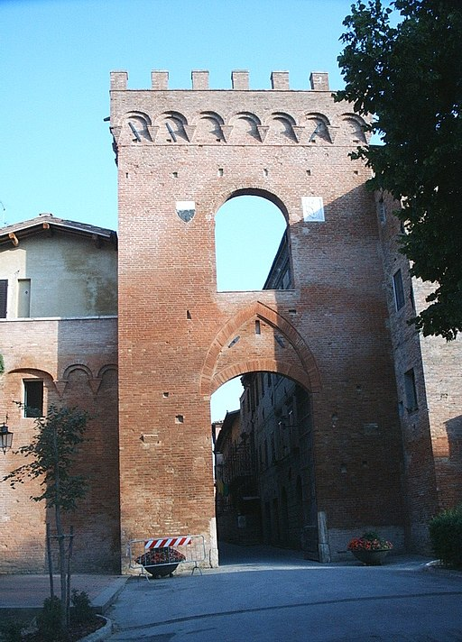 Buonconvento, Porta Senese