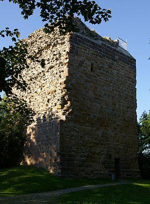 Wetzlar - Kalsmunt castle ruins.