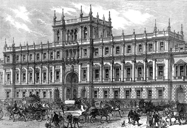 Burlington House ILN 1873