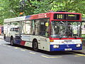 Bus on Colmore Row, Birmingham - DSC08814.JPG