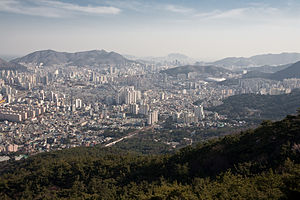 Dongnae District - Image: Busan View
