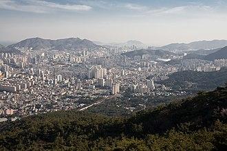 Dongnae District - Image: Busan View