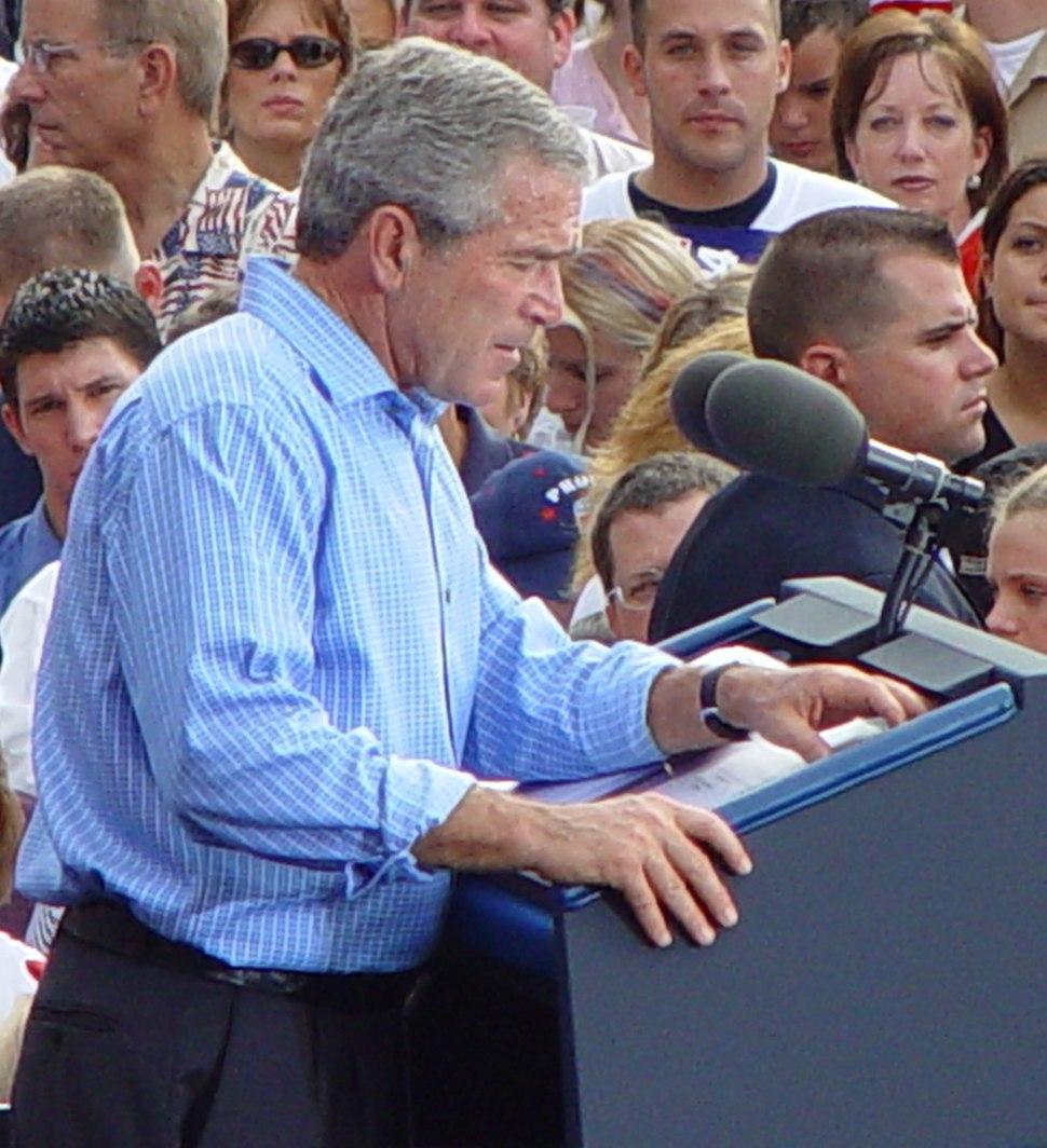 Bush cropped