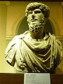 Bust of Lucius Verus. Displayed at exhibition in Taipei. 2013.jpg