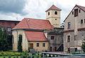 Bystrzyca Kłodzka- kościół szpitalny p.w. św. Jana Nepomucena, 1833.JPG