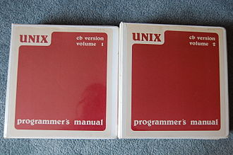 Documentation - The multi-volume programmer's manual to a 1975 operating system called CB UNIX