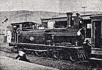 CGR 2nd Class 4-4-0T - Image: CGR 2nd Class 4 4 0T 1882