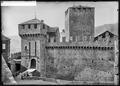CH-NB - Bellinzona, Castello di Montebello, vue partielle extérieure - Collection Max van Berchem - EAD-7112.tif