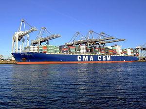 CMA CGM Norma IMO 9299812, Port of Rotterdam, Holland, 06JAN2009 pic6.JPG