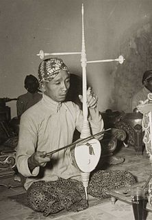 K. P. H. Notoprojo Indonesian musician