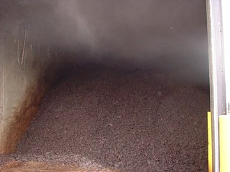 In-vessel composting - Image: CVRD2week 1bay