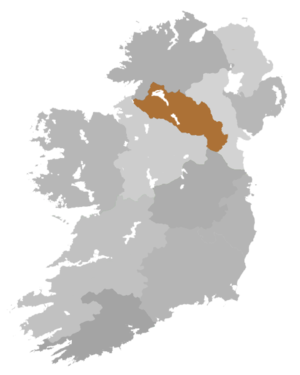 Diocese of Clogher (Church of Ireland) - Diocese Highlighted