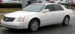 Cadillac DTS - Image: Cadillac DTS 02 29 2012