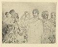 Caesar's Denarius, print by James Ensor, 1888, Prints Department, Royal Library of Belgium, S. V 85369.jpg