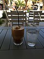 Café frappé with vanilla ice cream in Chania (Crete, Greece).jpg
