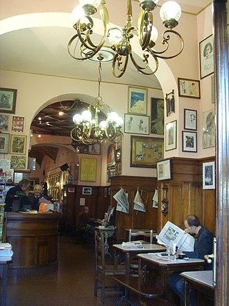Ardengo Soffici - Caffè Giubbe Rosse