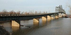 Cairo Ohio River Bridge - Image: Cairo Ohio River Bridge