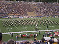 Cal Band performing at halftime at EWU at Cal 2009-09-12.JPG