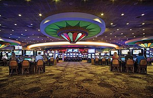 Calder Casino - Game floor