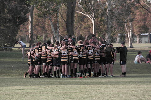 Caloundra halftime vs. Uni April 26, 2014.JPG
