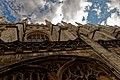 Cambridge - King's College Chapel 1446-1544 - North Gate - View on North Wall III.jpg